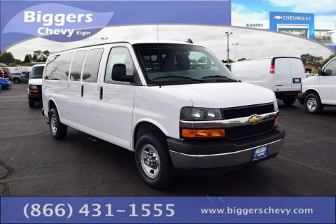 New Chevrolet Express 3500 LT