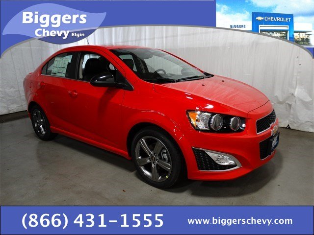 New Chevrolet Sonic RS