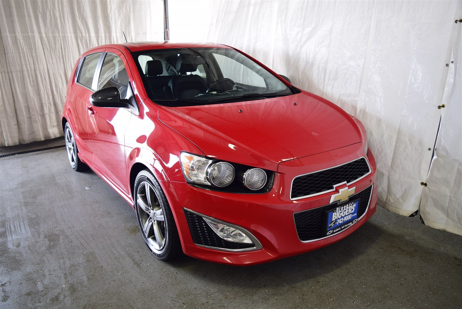 Chevrolet Sonic Owners Manual: Top Tether Anchor