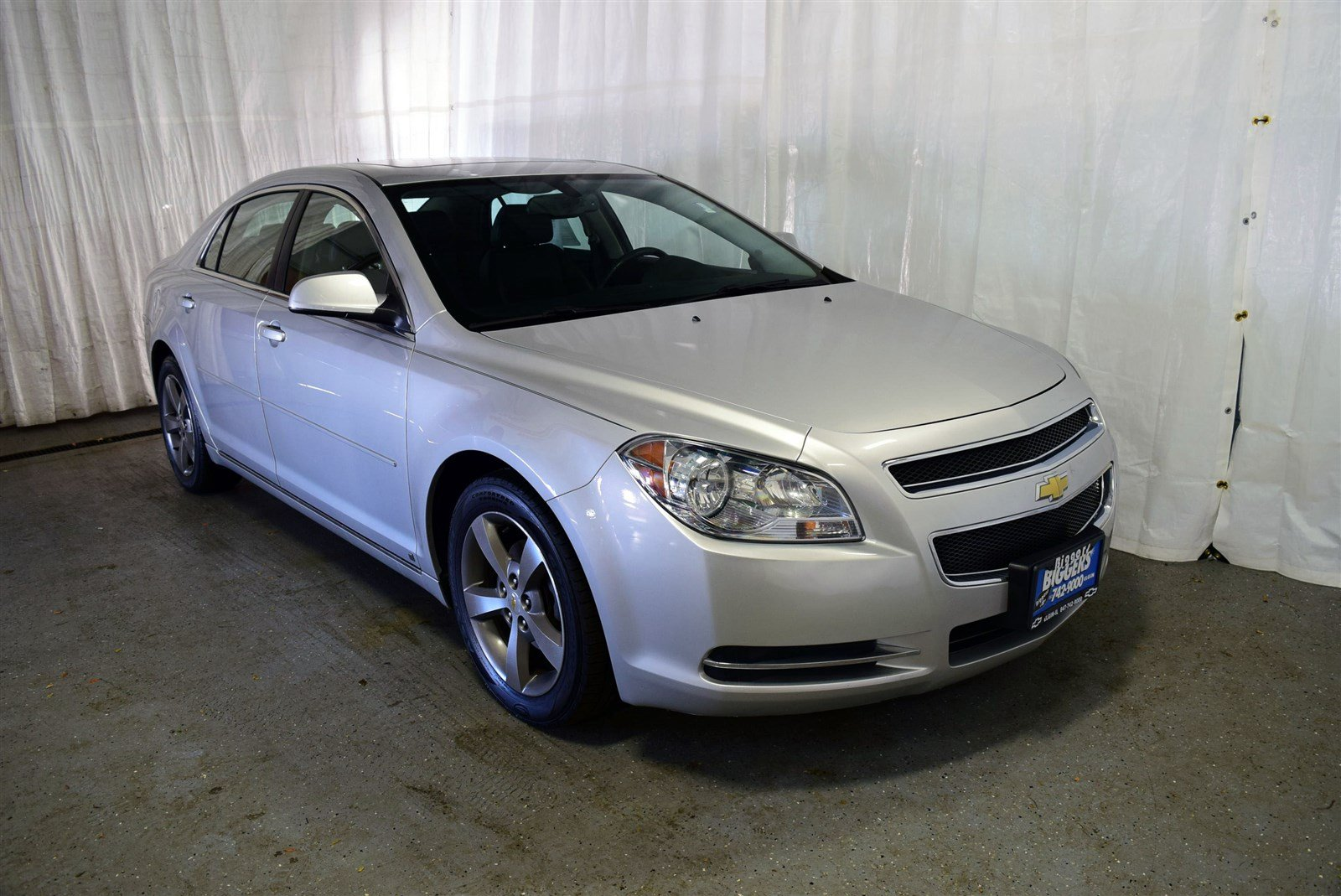 used 2009 chevrolet malibu lt 4d sedan near schaumburg. Black Bedroom Furniture Sets. Home Design Ideas