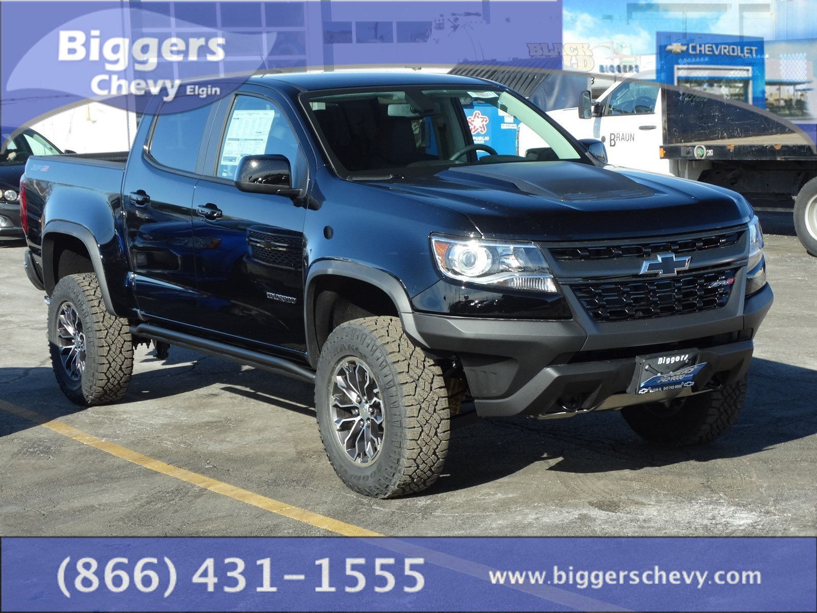 Silverado Special Editions >> New 2018 Chevrolet Colorado ZR2 4D Crew Cab near Schaumburg #3180341 | Biggers Chevrolet