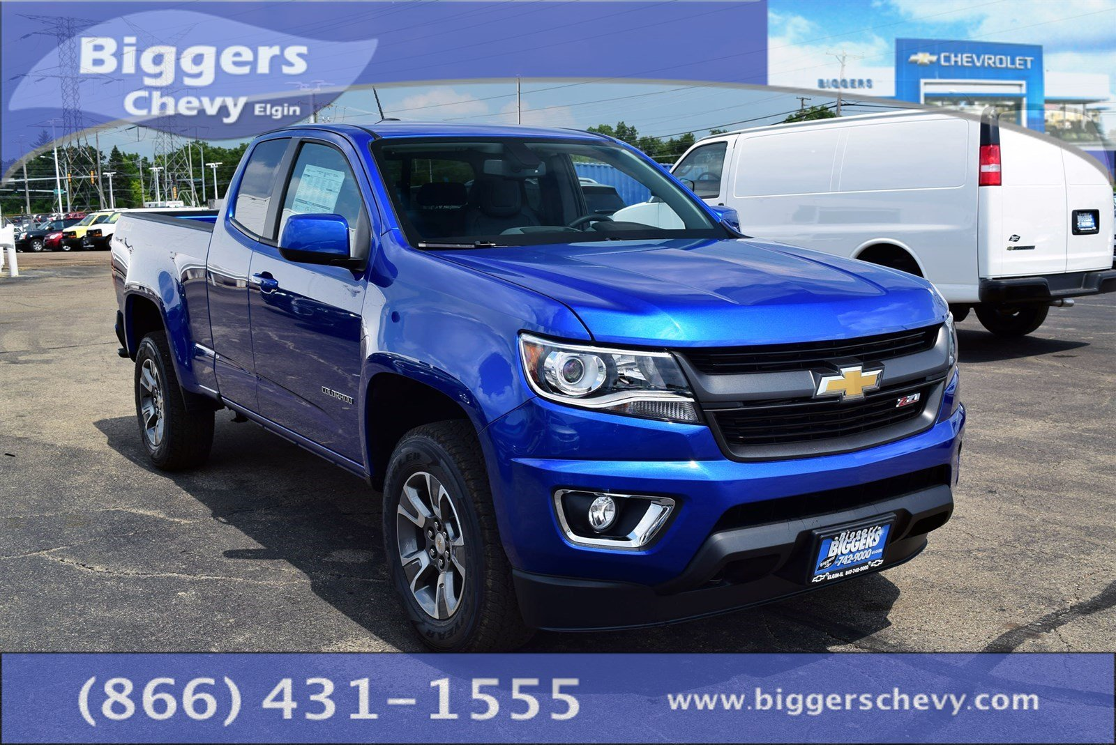 New 2018 Chevrolet Colorado Z71 4D Extended Cab near ...