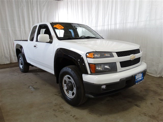 used 2010 chevrolet colorado work truck extended cab. Black Bedroom Furniture Sets. Home Design Ideas