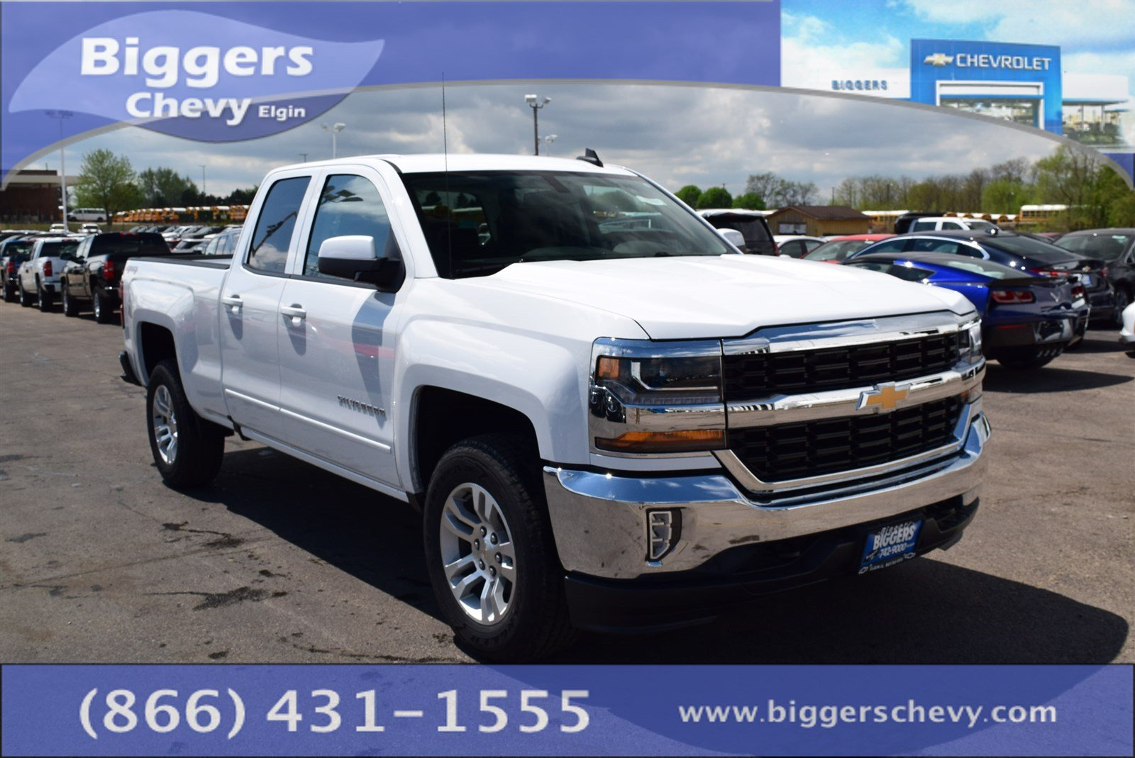 new 2017 chevrolet silverado 1500 lt double cab near schaumburg 3170594 biggers chevrolet. Black Bedroom Furniture Sets. Home Design Ideas