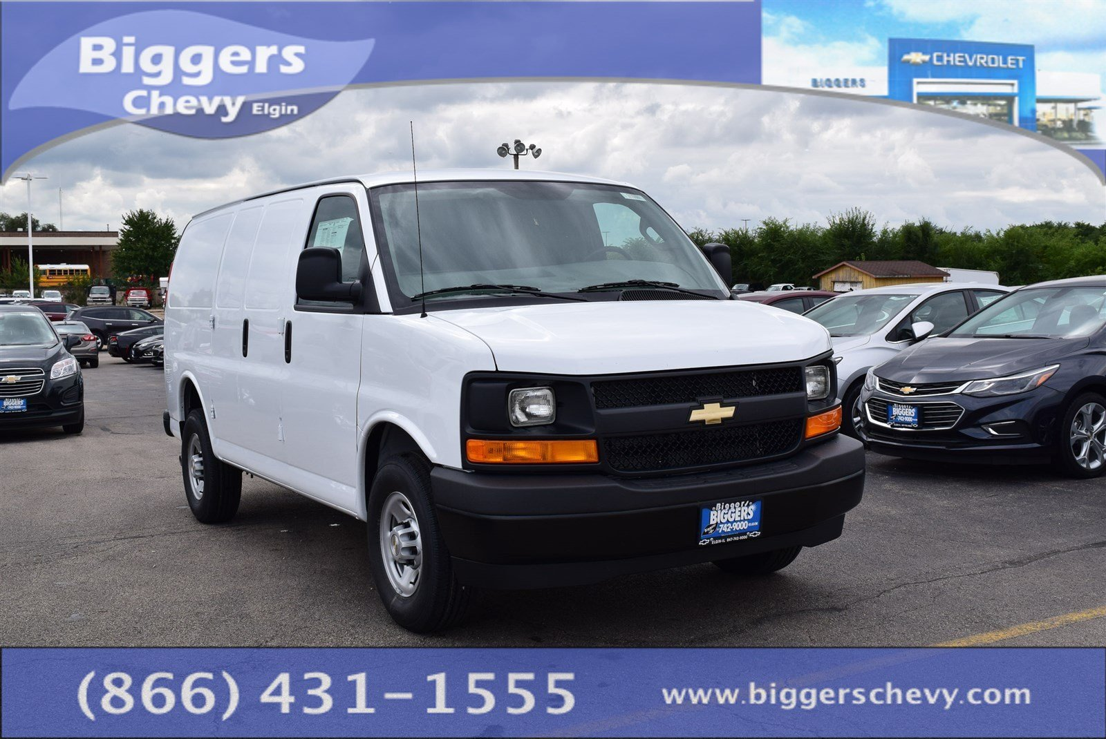 new 2017 chevrolet express 2500 work van 3d cargo van near schaumburg 3170095 biggers chevrolet. Black Bedroom Furniture Sets. Home Design Ideas