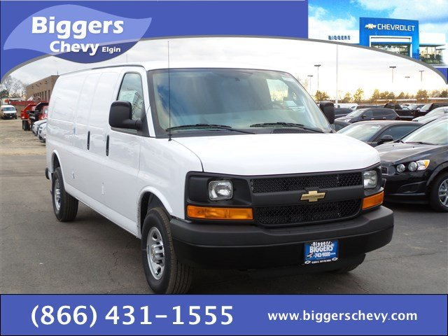 New Chevrolet Express Cargo Van