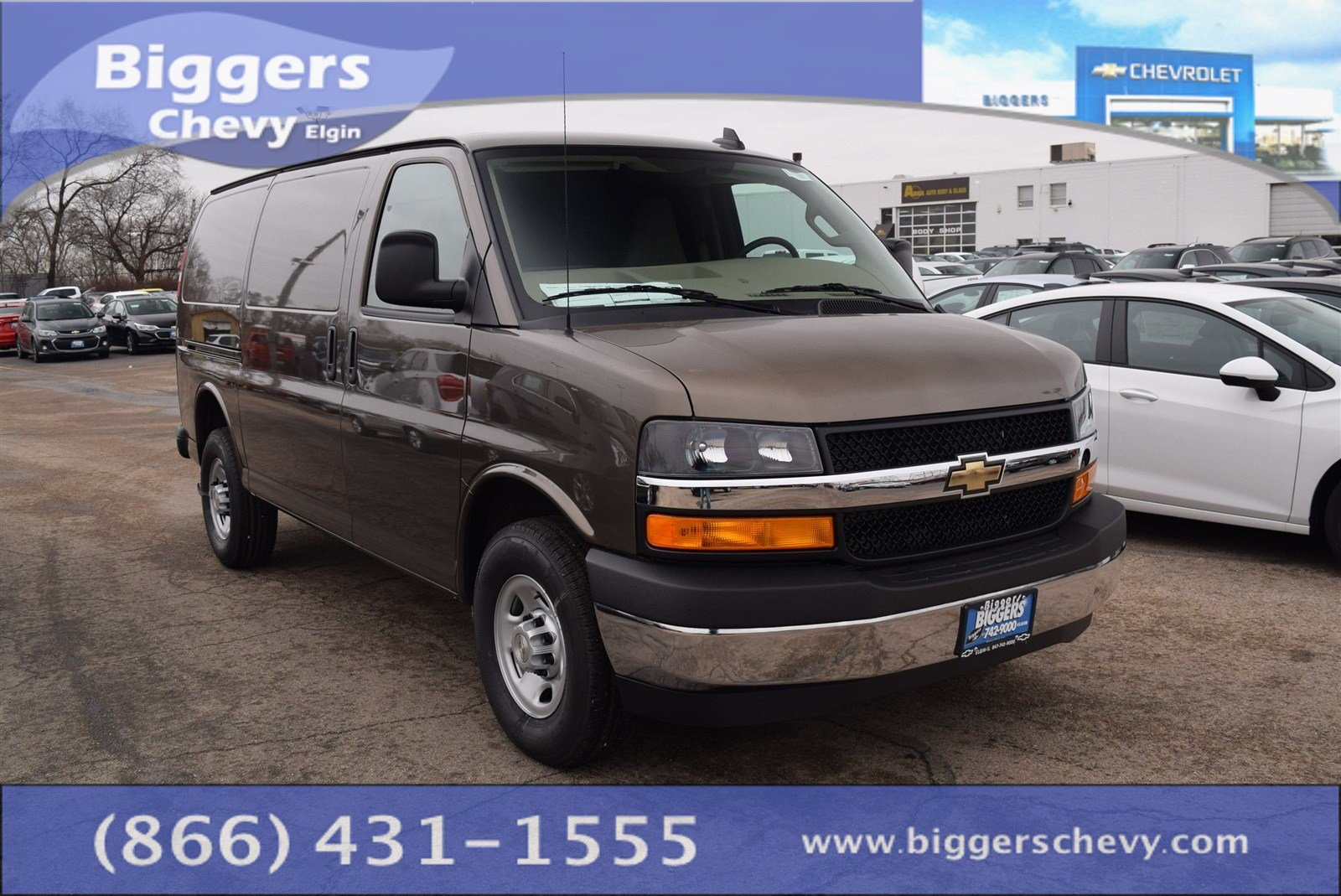 new 2017 chevrolet express 3500 work van 3d cargo van near schaumburg 3170062 biggers chevrolet. Black Bedroom Furniture Sets. Home Design Ideas