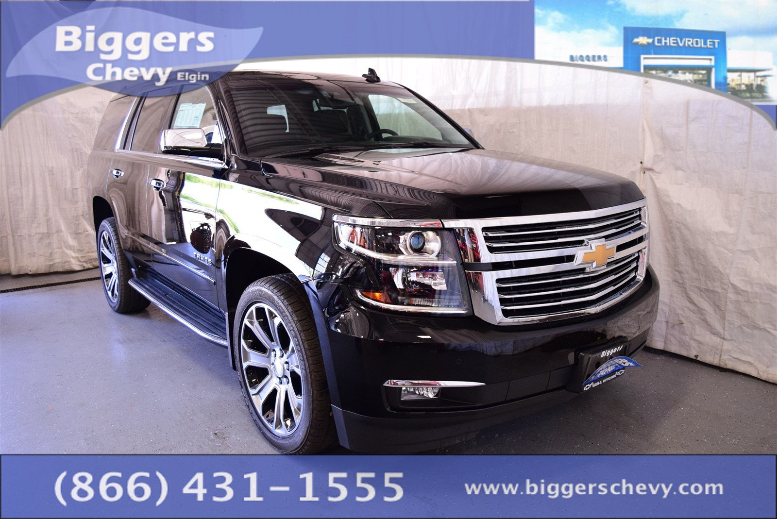 new 2017 chevrolet tahoe premier 4d sport utility near schaumburg 3170720 biggers chevrolet. Black Bedroom Furniture Sets. Home Design Ideas