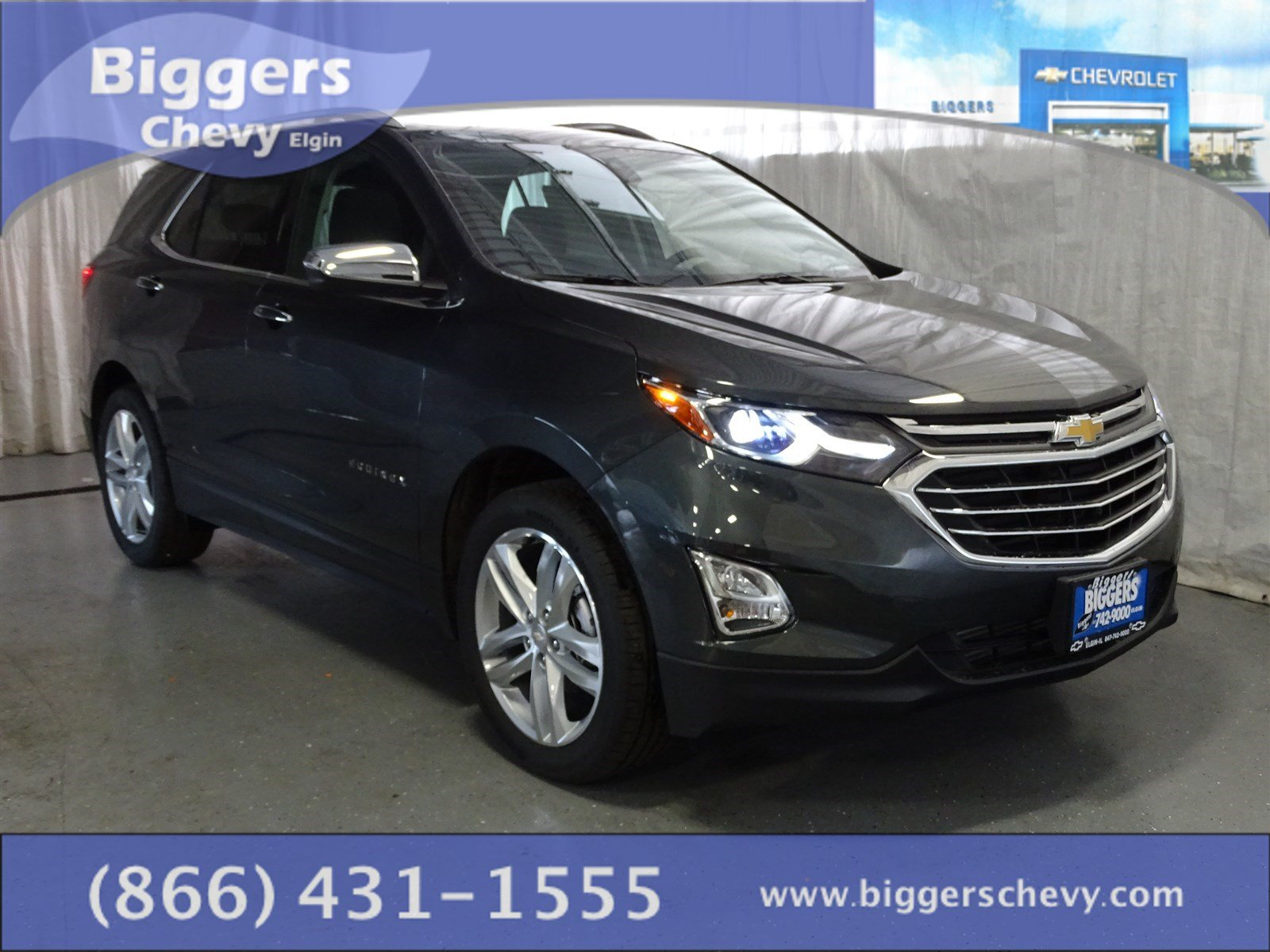 new 2018 chevrolet equinox premier 4d sport utility near schaumburg 3180026 biggers chevrolet. Black Bedroom Furniture Sets. Home Design Ideas