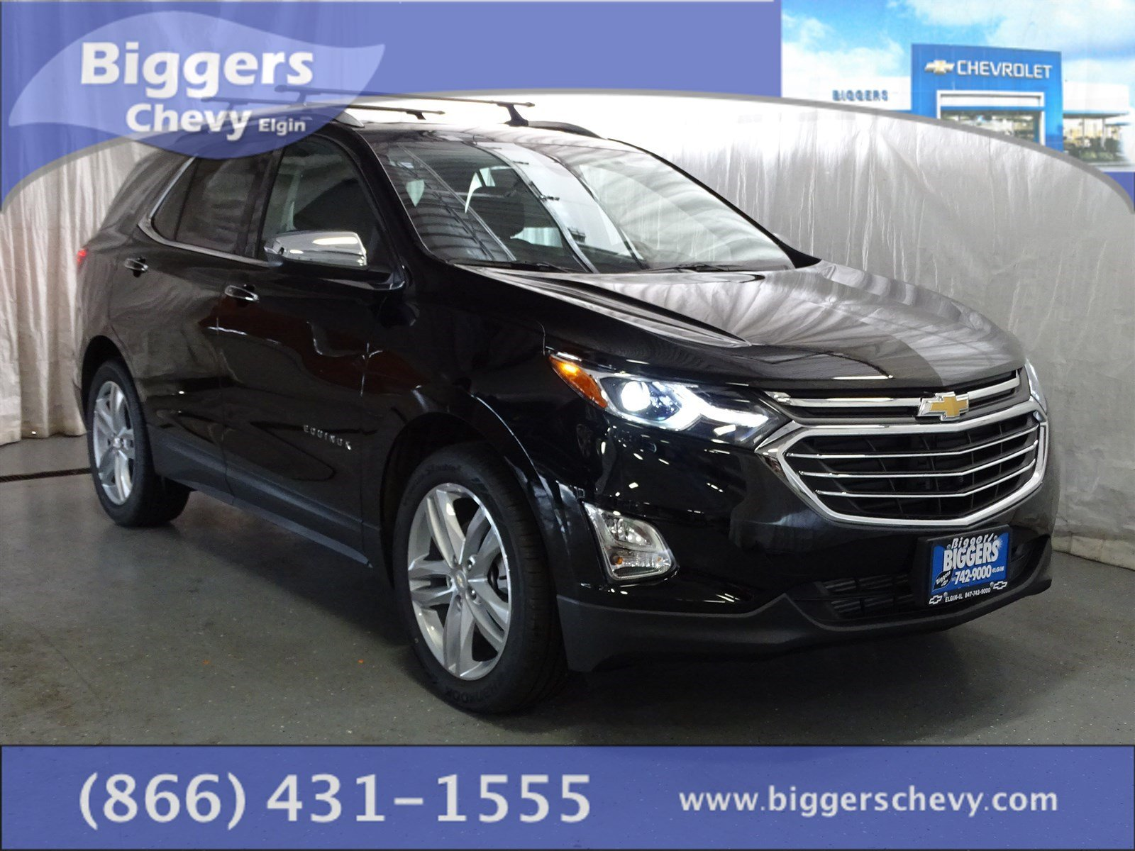 new 2018 chevrolet equinox premier 4d sport utility near schaumburg 3180032 biggers chevrolet. Black Bedroom Furniture Sets. Home Design Ideas